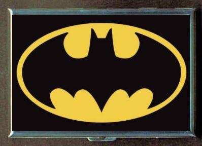Bat Signal Batman Logo Double-Sided Cigarette Case, ID Holder, Wallet with RFID Theft Protection