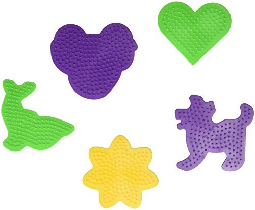 Perler Car/Dog/Dolphin/Heart/Daisy Pegboards Beads by (Daisy Peg)