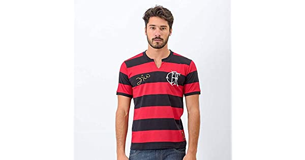 c3534ba42b Camisa Flamengo Tri Zico  Amazon.com.br  Amazon Moda