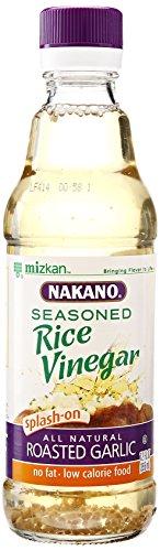 Nakano Seasoned Rice Vinegar with Garlic, 12 (Garlic Vinegar)