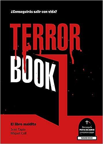 Terror book El libro maldito de Ivan Tapia y Miquel Coll