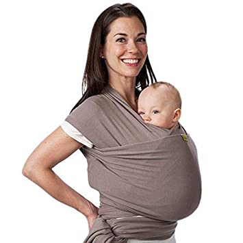 ba230cede Amazon.com : Boba Baby Wrap Grey - The Original Child and Newborn Wrap,  Perfect for Infants and Babies Up to 35 lbs : Child Carrier Slings : Baby