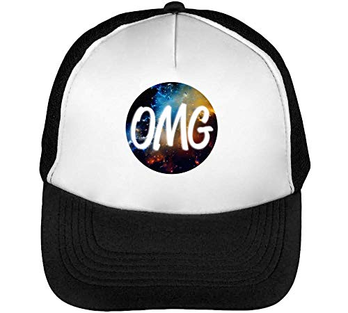 Hombre Snapback Cosmic Omg Gorras Fashioned Negro Beisbol Blanco qHwTOz7tc