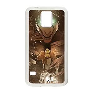 Attack On Titan Samsung Galaxy S5 Cell Phone Case White gift pjz003-9428037