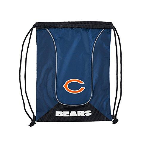 The Northwest Company NFL Chicago Bears NFL Doubleheader Backsack, Navy, Measures 19