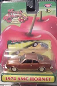 Motor Max Fresh Cherries Brown 1974 Amc Hornet Die-Cast 1:64