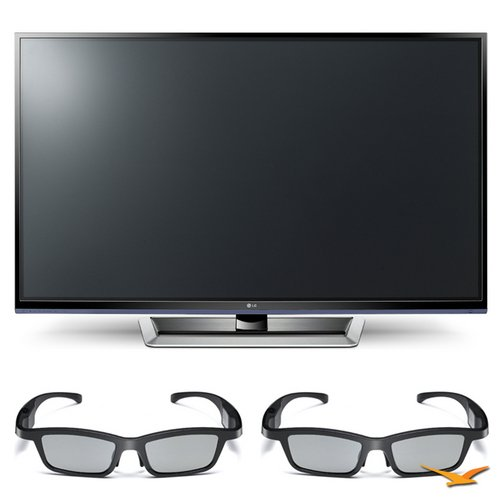 LG 50PM4700 50″ 720p 3D Slim Bezel Plasma Smart HD TV and 3D Glasses Bundle – Includes 50PM4700 50″ 720p 3D Slim Bezel Plasma Smart HD TV and 2 AG-S350 Active-Dynamic Shutter 3D Glasses, Best Gadgets
