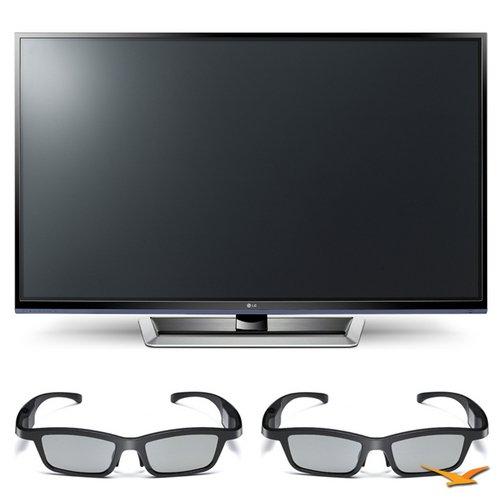 LG 50PM4700 50″ 720p 3D Slim Bezel Plasma Smart HD TV and 3D Glasses Bundle – Includes 50PM4700 50″ 720p 3D Slim Bezel Plasma Smart HD TV and 2 AG-S350 Active-Dynamic Shutter 3D Glasses, Best Gadgets