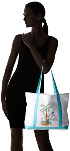 Let the Fun Begin Large Nylon Tote Bag