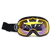 Electric EG2 Snow Goggle, Gloss Black, Yellow/Blue Chrome by Electric California