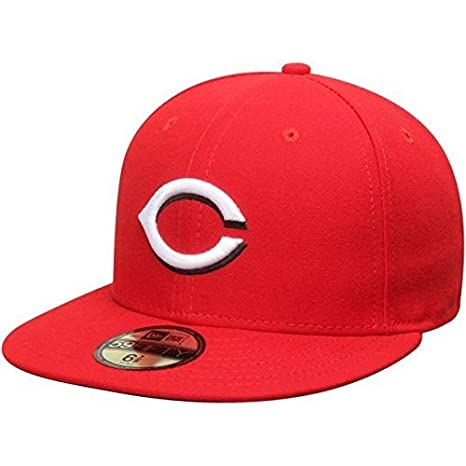 100% authentic e85f9 8a116 New Era Cincinnati Reds MLB Authentic Collection 59FIFTY On Field Cap  NewEra 59Fifty  7