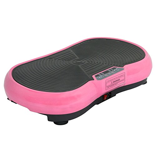 SUPER DEAL Crazy Work Out Fit Full Body Vibration Platform Massage Machine Fitness W/Bluetooth, Pink by SUPER DEAL (Image #4)
