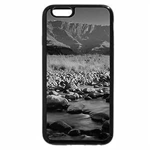 iPhone 6S Plus Case, iPhone 6 Plus Case (Black & White) - tugela river at sunset