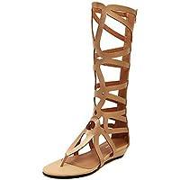 Zormey Las Mujeres Sandalias De Gladiador Vestido De