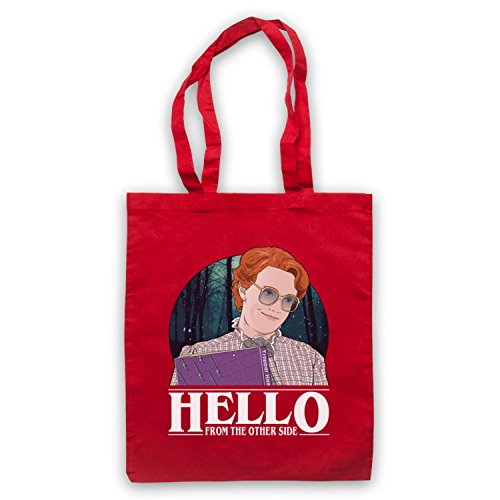 Red Hello Things From Other Stranger Bag The Barb Side Tote qpETz