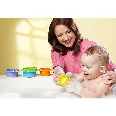 Bruin Sea Critter Bath Cups : Bathtub Toys : Baby