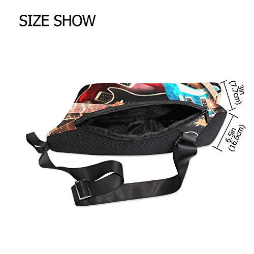 Shoulder Body For Music Waterproof Small Chest Bag Women Backpack Men Sling amp; Bennigiry Cross XvA8w8