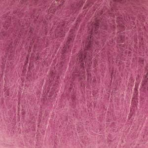 Drops Brushed Alpaca Silk Fluffy Superfine Alpaca and Silk Yarn Light and Warm 1.8 oz 153 Yards per Ball 02 Light Grey