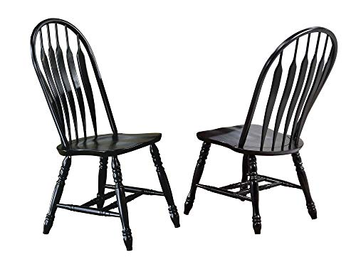 Sunset Trading Comfort Back Dining Chair, Set of 2, 41