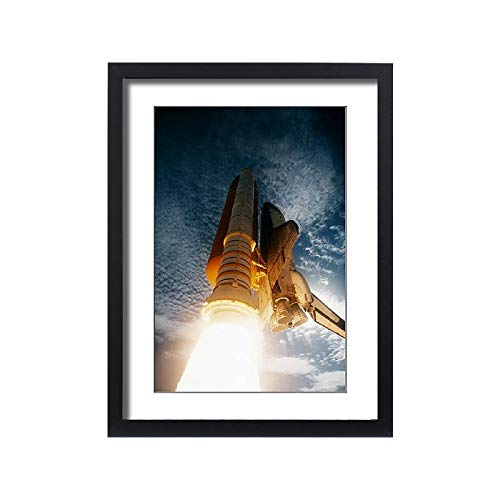 Media Storehouse Framed 24x18 Print of 1995, Aerospace Industry, Countdown, Exploration, Final Frontier (18231039)