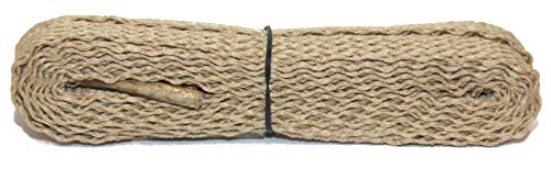 (FootGalaxy Flat Laces (Shoelaces) For Boots And Shoes, 45, Tan)