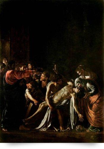 Resurrection of Lazarus by Caravaggio (Giclee Art Print), The Fine Art Masters
