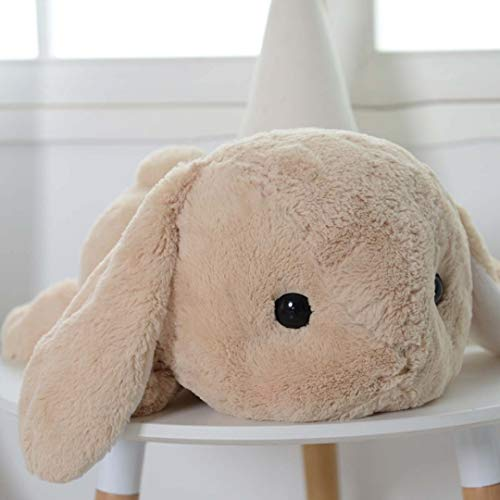 UBeauty 20'' Cute Rabbit Plush Toys Lop Rabbit Doll Pillow (brown)