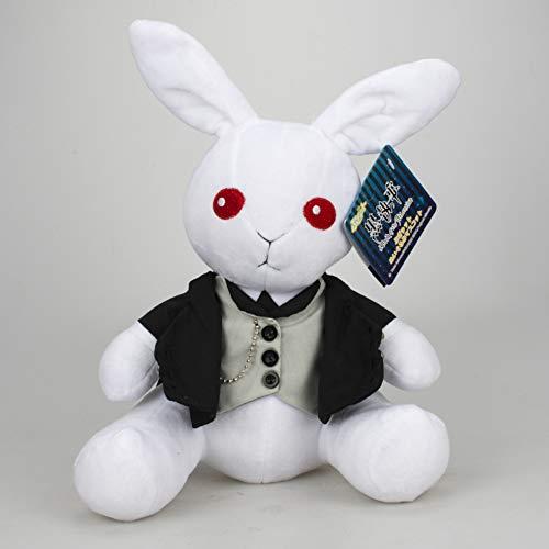 (KINOMOTO Kuroshitsuji Ciel Phantomhive Rabbit Plush Dolls Plush Anime Dolls Stuffed Puppet Toys (Blue, 12''))