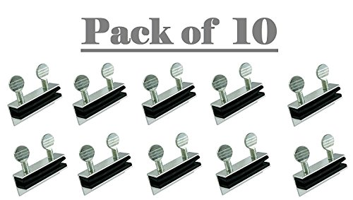(Lion Locks Aluminum Sliding Door and Window Lock, Pack of 10)