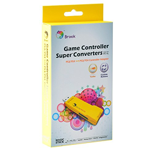 - Gam3Gear Brook PS3 / PS4 to PS3 / PS4 Super Converter Controller Gaming Adapter with FREE Keychain