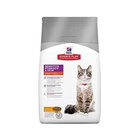 Hills Science Plan, Alimentación para Gatos con Pollo para Estómago y Piel Sensible - 5