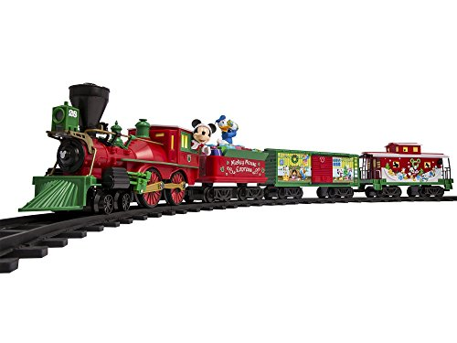 Lionel Disney Mickey Mouse Express Battery-powered Model Train Set Ready to Play w/ Remote (Parks Disney Train Christmas)