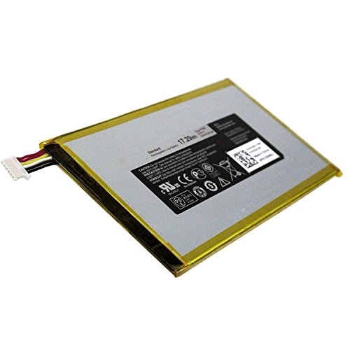 SUNNEAR DHM0J P706T / P708 System Battery for Dell Venue 7 (3740) / Venue 8 (3840) Tablet 17.29Whr p706t from Electronic-Readers.com