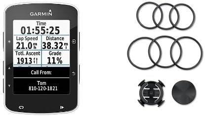 Garmin Edge 520 - Ciclocomputador con GPS (pantalla de 2.3 ...