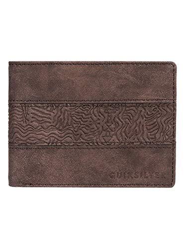 Quiksilver Men's Wavegarden Wallet, Chocolate Brown, M