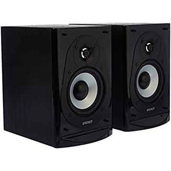 Amazon Energy CB 5 Bookshelf Speakers PairBlack Home Audio