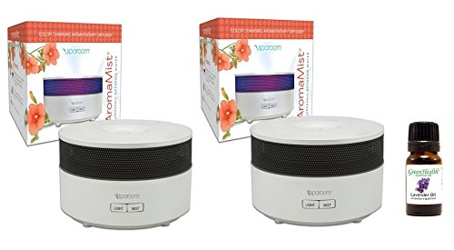 SpaRoom Aromamist Ultrasonic Essential Diffuser product image