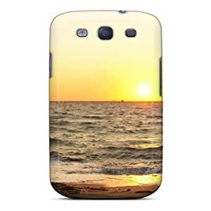 High Impact Dirt/shock Proof Cases Covers For Galaxy S3 (couple Sunset Beach)