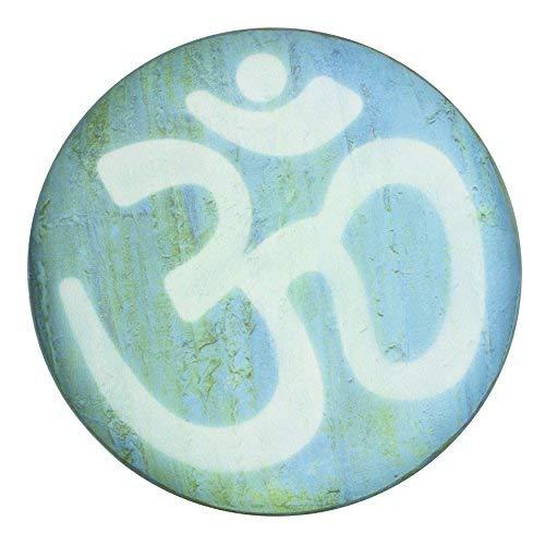 ORIENTAL FURNITURE Om Meditation Stool CAN-STL-YIN-B