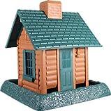 North States Village Collection Around Town-Birdfeeder-Log Cabin