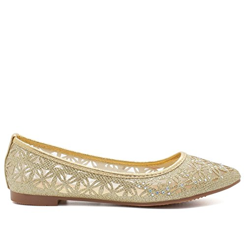 Footwear Ballet London Gold London Footwear donna qxzRa8