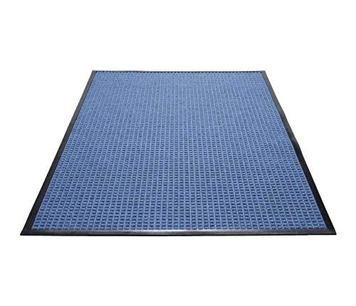 (Guardian WaterGuard Indoor/Outdoor Wiper Scraper Floor Mat, Rubber/Nylon, 3'x5', Blue )