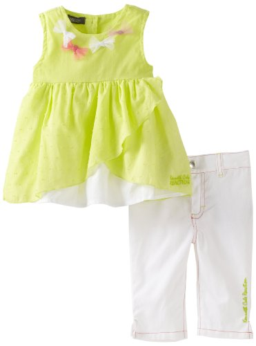 Kenneth Cole Baby Girls' Top And Capri Pant