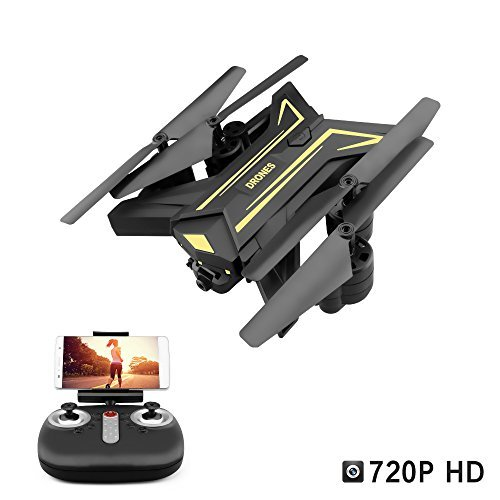 Your Supermart RC Drone with Camera Foldable WiFi FPV RC Quadcopter Headless Mode One Key Return Good Choice for Drone