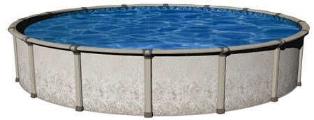 Wil-Bar-International-PVEN1852RSRSRL2-Repreive-18-ft-x-52-in-Round-Backyard-Leisure-Pool