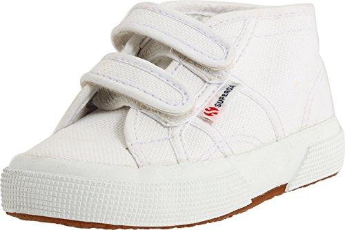 Superga 2754 Jvel Classic White Mid Top Shoes Unisex Kids (12.5 Little Kids) ()