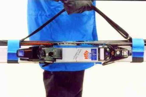 The Bowtie Magnum Ski Carrier / Sling; It Really Is Simply the Finest - Blue