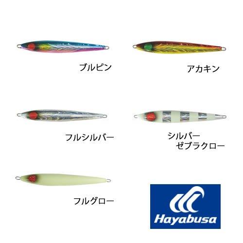 ハヤブサ ジャックアイ スイッチ FS427 120g (ジギング メタルジグ) フルグローの商品画像