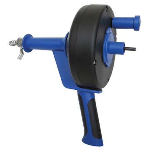 Cobra 86250 1/4-Inch by 25-Feet Pistol Grip Power Drum Auger (Attachment Drill Snake Drain)