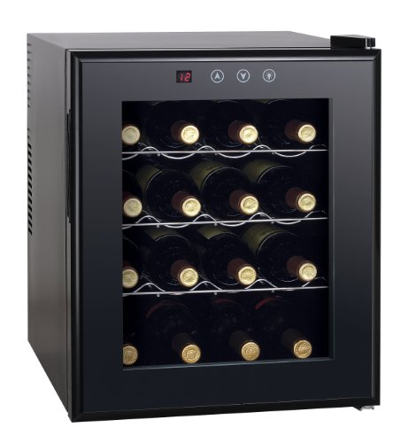 Thermo Electric Wine Cooler Heating 16 Bottles